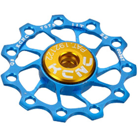 KCNC Jockey Wheel Ultra 11 tanden SS Lager, blue